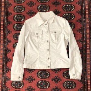 Parasuco White Denim Jacket
